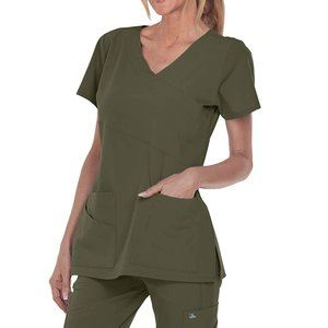 Grey's Anatomy Olive Scrub Set